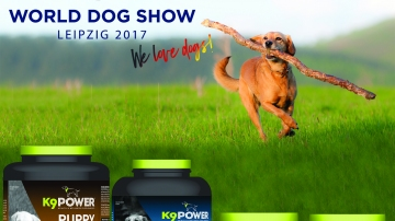 Meet K9 POWER PRODUCTS at WDS-LEIPZIG!
